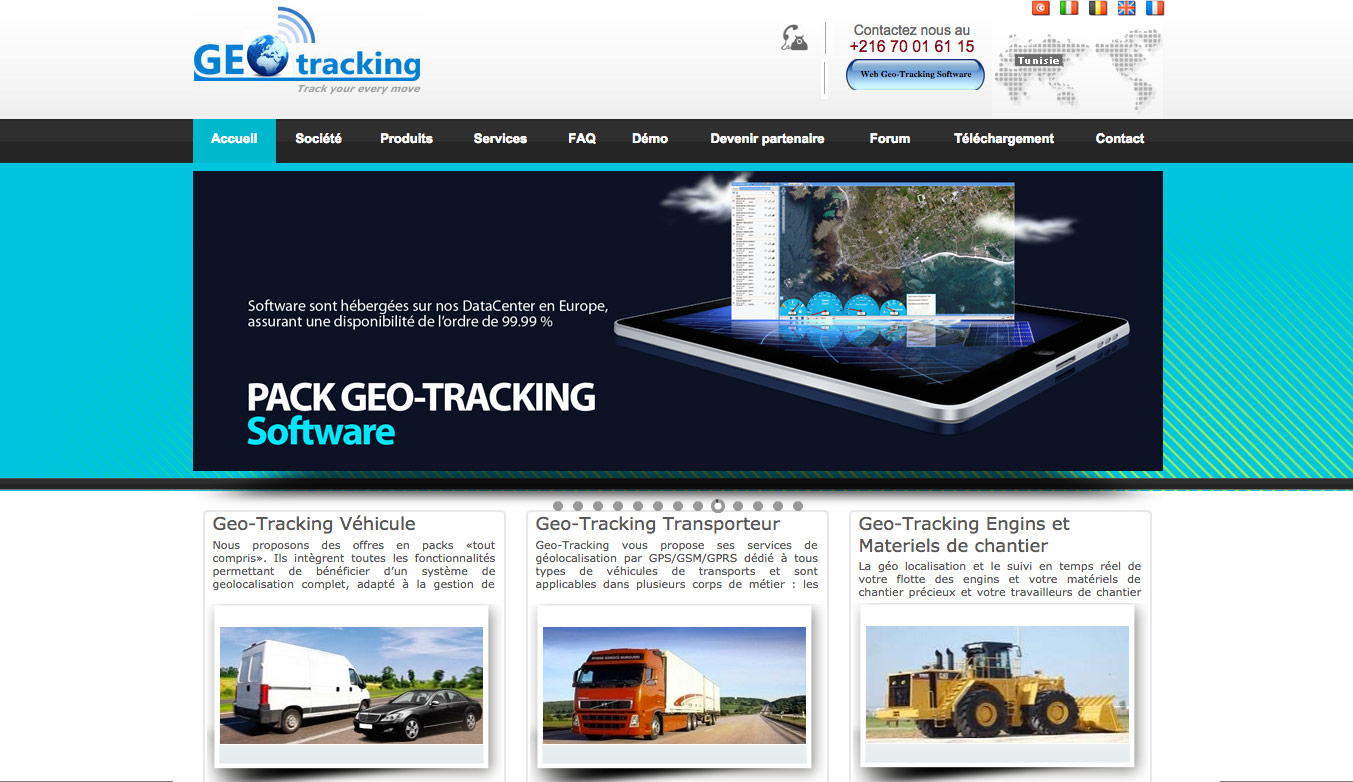 geotracking